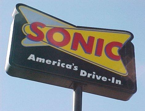 Sonic Restaurant Sign